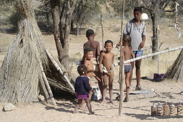 Bushmen children
